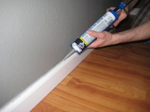 Caulking(8 steps of painting)
