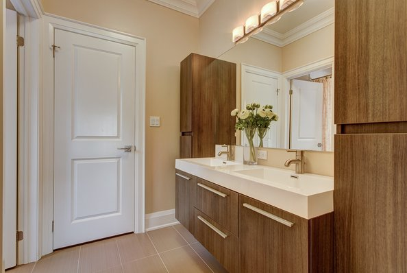 Cabinets, storage and doors(Bathroom Renovation Tips 7 ideas)
