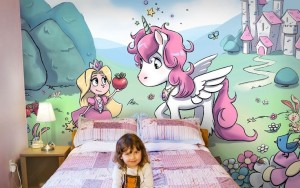 Mural Painting kids (fix house)