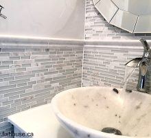 Bathroom and Powder-Room Renovation